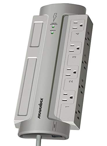Panamax Pm8-Ex 8 AC Outlet Surge Protectors (Renewed)