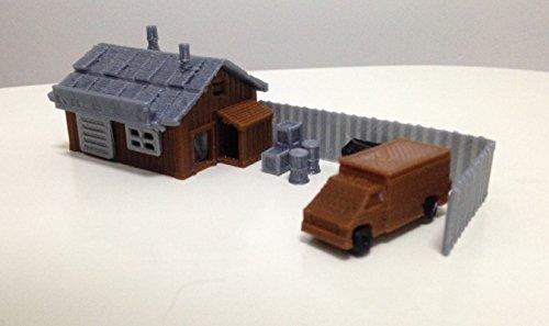 (Outland Models Train Railroad Hardware Workshop / Parts Store N Scale 1:160)