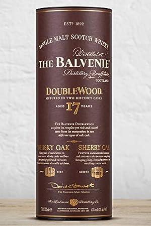 The Balvenie - Whisky de Malta escocés, 700 ml