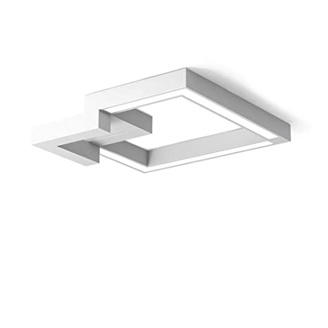 Moderno Geometría Design Plafón minimaliste Rectángulo decorativo Luminaires de interior acrílico Creative techo lámparas LED de