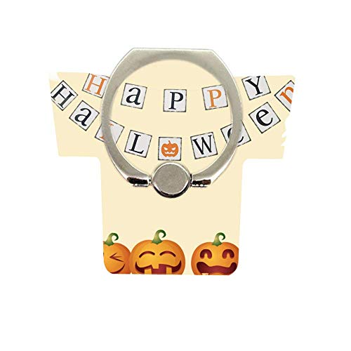 Phone Finger Ring Holder Stand,Halloween Pattern Design Phone Ring Holder 360°Rotation Finger Phone Ring Stand for All Phones Tablets Halloween Bunting]()
