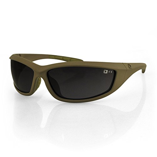 4014128 Bobster Zulu Ballistics Eyewear-Tan Frame-Anti-Fog - Military Sunglasses Ballistic