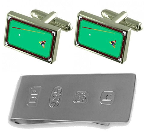 Pool Clip Pool Bond Cufflinks Table Money Table amp; James 6c6w5qrBx8