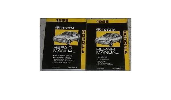 1998 Toyota Supra Service Repair Shop Manual Set 98 W Wiring Diagram Toyota Amazon Com Books
