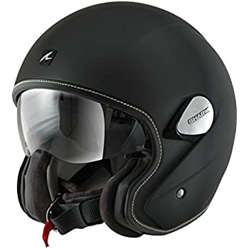 Shark Heritage Helmet (Matte Black, X-Large)