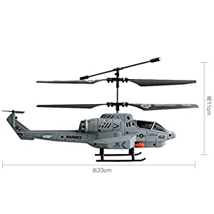 Z-CGiftHome RC Remote Control Combat Helicopter Gift Toys For Kid Adult by Z-CGiftHome