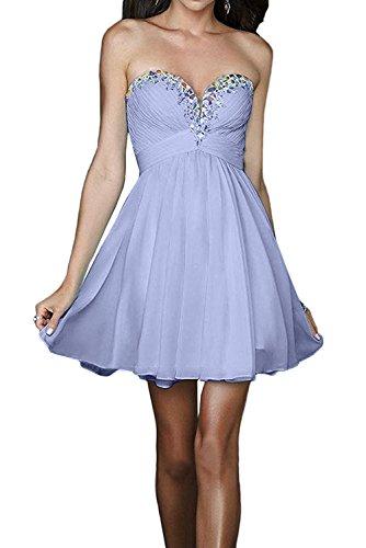 Lilac La Cocktailkleider Promkleider Abschlussballkleider Braut Damen Champagner Mini Abendkleider Kurzes mia vZ7vBqwg