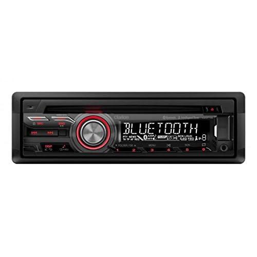 Clarion CZ315E 100W Bluetooth Noir récepteur multimédia de voiture - récepteurs multimédias de voiture (FM,LW,MW, 87,5 - 108 MHz, 153 - 279 kHz, 1 lignes, Noir, 100 W) hot sale 2017