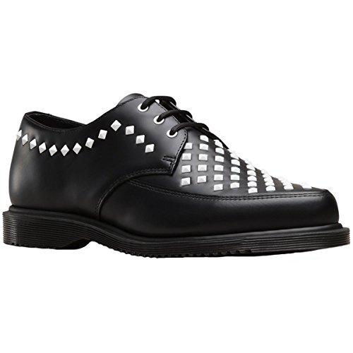 ojales 3 Dr cuero Willis de Martens con negros Mens Zapatos xwXrqrSn80