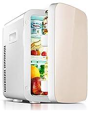 Mini Portable Small Refrigeration Heating Medicine Breast Milk Refrigerated Student Dormitory Incubator Thermostat Small Refrigerator - Dual Core (Champagne)
