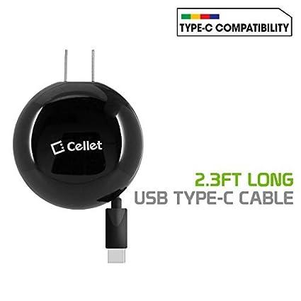 Amazon.com: Cellet TCUSBC30R - Cargador de pared compacto ...