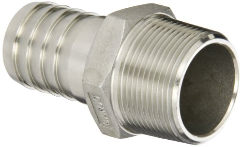 Banjo HB125SS Stainless Steel 316 Hose Fitting, Adapter, 1-1/4