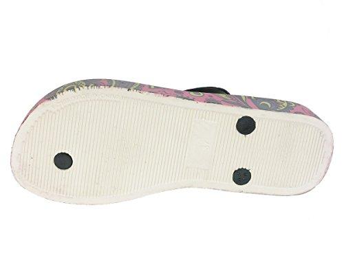 Beppi - Sandalias de Material Sintético para mujer Multicolor - rosa7negro