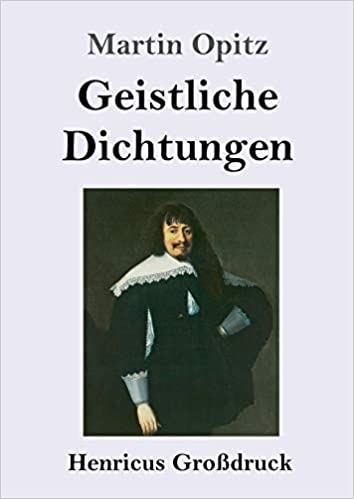 Geistliche Dichtungen (Großdruck)