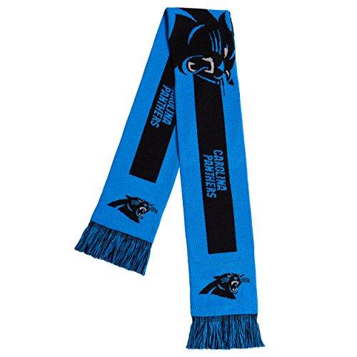 NFL Carolina Panthers - 2016 Big Logo Scarf, One Size, Team (Panthers Jersey Scarf)