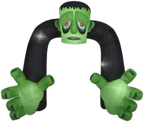 (oldzon Inflatable 9' Airblown Archway Monster Halloween Yard Decoration with Ebook)