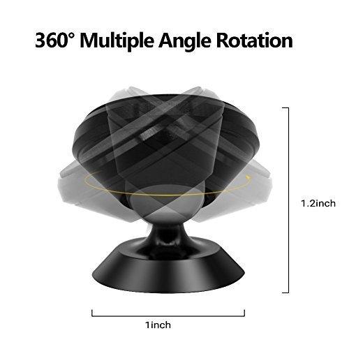 360 Degree Rotation Dashboard, Phone Mount Luminous Holder