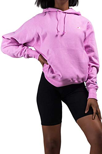 Champion LIFE Men's Reverse Weave Pullover Hoodie, Paper Orchid, Small (Pullover Hoodies Pink)
