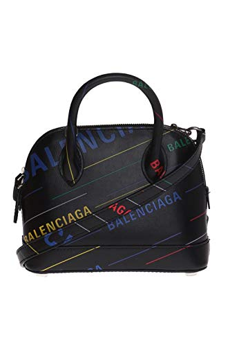 Balenciaga Women's 5506460K1v31072 Black Leather Handbag