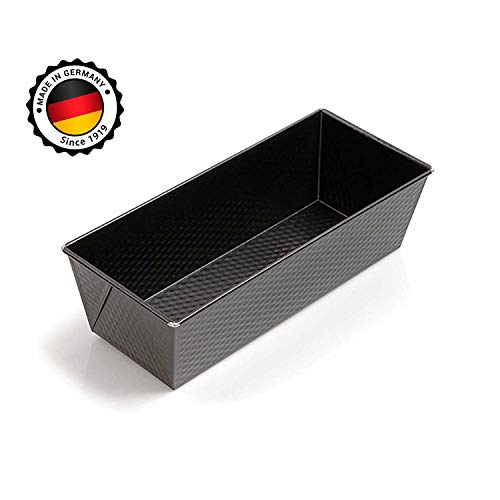 "Kaiser Nonstick Loaf Pan for Baking - 10"" x 5"" x 3"" inch Meatloaf Pan, Bread Pan Baking Supplies, Easy Clean Professional Bakeware"