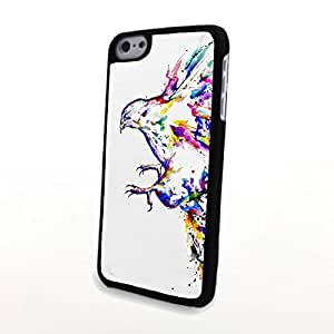 Generic PC Phone Cases Colorful Vivid Cute Bird Matte Pattern fit for 3D Comic iPhone 5C Case