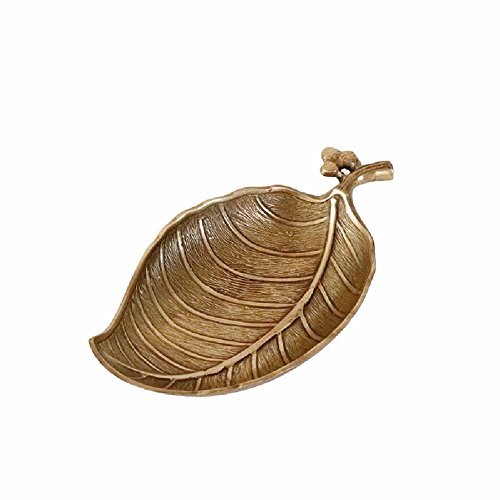 WAWZJ Ashtray Do The Old European Style Of The Ancient Brass Ashtray Leaves Other Ornaments by WAWZJ-Ashtray