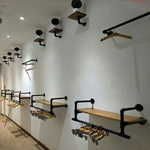 Amazon.com: Perchero con soporte para colgar en la pared ...