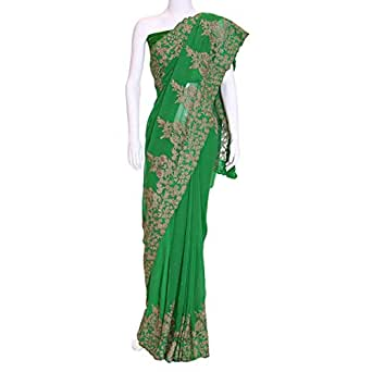 Kalaniketan Green Casual Saree For Women