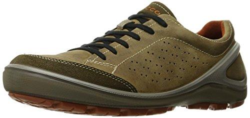 Ecco Biom Heren Grip Urbaneering Sneaker Tarmac / Navajo Brown