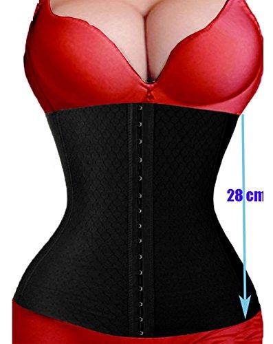 Women's No Closure Waist,Corset Cincher Boned Tummy Control Waist Girdle Shaper