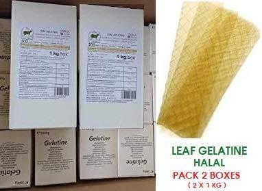 Inkafoods, Pack de Gelatina en lamina Halal, 300 Laminas por Caja de 1k, Pack de 2 Cajas: Amazon.es: Alimentación y bebidas
