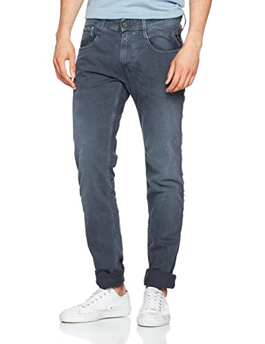Slim blue 60 Blu Replay Uomo Jeans Anbass H6wPxqEp