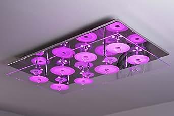 Plafón LED Everlight cambiacolores con mando a distancia