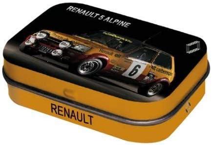 Mini Caja Coleccionista Renault 5 Alpine (4x6x1, 6cm) Dulces Menta ...