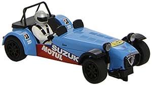 Super Slot 500003133  Caterham R500 HD - Coche para circuitos eléctricos de carreras color azul [Importado de...