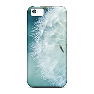 FashionE-Space Case Cover Skin For Iphone 5c (dandelion Flower)