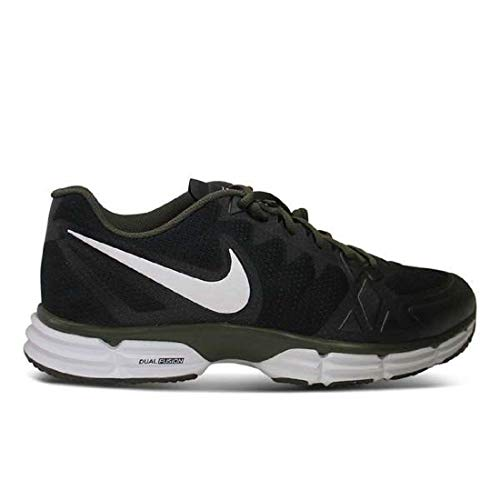 - Nike Men's Dual Fusion TR 6 Training Shoe Black/Cargo Khaki/White Size 12 M US