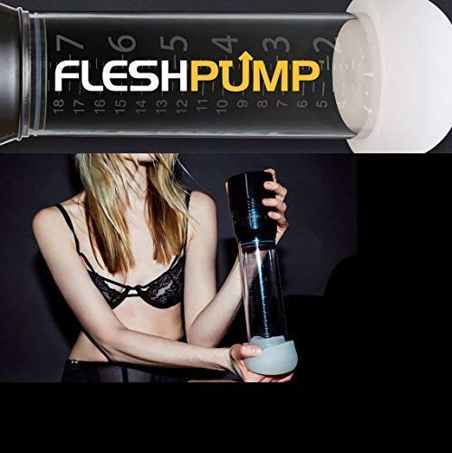Fleshlight Fleshpump | Gentle Penis Pump for Men | Natural Alternative to Erectile Dysfunction Pills | Comfort Sleeve Attachment and USB Charger by Fleshlight (Image #6)