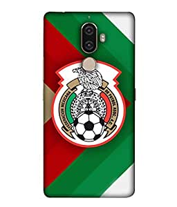 ColorKing Football Mexico 11 Multicolor shell case cover for Lenovo K8 Note