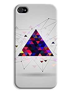 Abstract Colourful Triangle Case for your iphone 6 plus 5.5