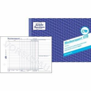 AVERY Zweckform 10 x Formularbuch Wochenrapport A5 VE=100 Blatt B0050CKFNU B0050CKFNU B0050CKFNU | Up-to-date Styling  dc231b