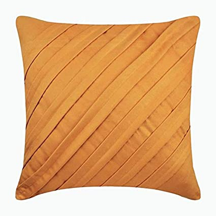 Amazon.com  Yellow Pillow Cover 16x16 inches ca4dbbbd9