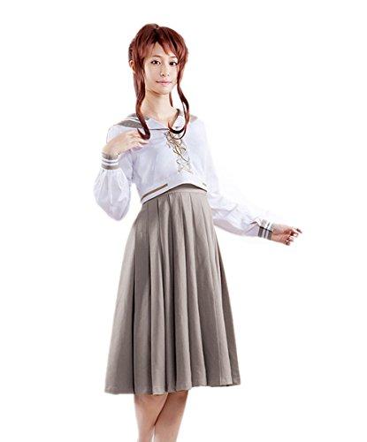 [Womens Cosplay School Uniform XXL Size CC-0200] (Sailor Moon Sailor Jupiter Wig Adult)