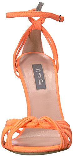 SJP by Sarah Jessica Parker Damen Willow Riemchensandalen Orange (Creamsicle Orange Suede)