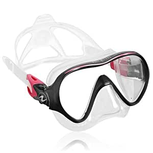 Aqua Lung Linea Single Lens Dive Mask (Twilight) by Aqualung