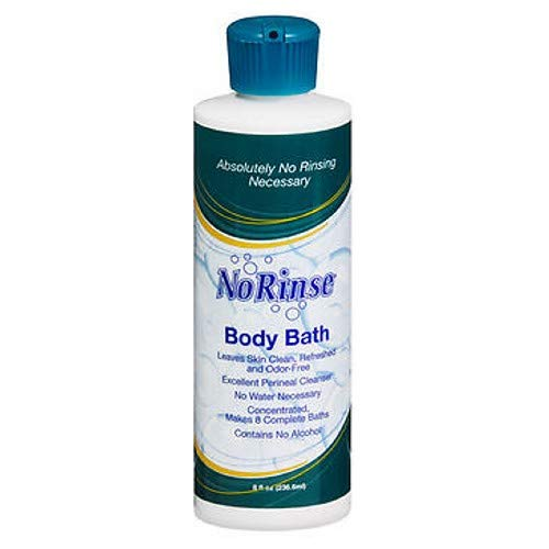 No Rinse Body Bath - 8 oz, Pack of 6 by No-Rinse