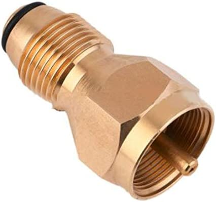 Propane Refill Adapter 1lb Cylinder LPG Gas Tank Coupler Heater Campers Outdoor
