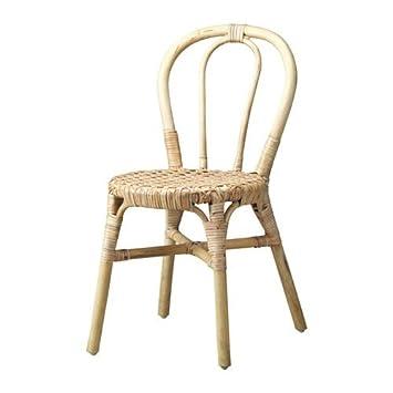 Ikea Viktigt Chaise En Rotin Chaises Empilables Amazon Fr