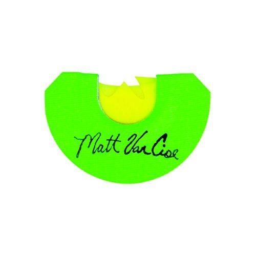 Flambeau M.A.D. NWTF GN Series Matt Van Cise Cut Turkey Call, Green