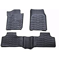 Nicebee Slush Floor Mat Liner Carpets Mats Rubber Black For Jeep Grand Cherokee 2011-2016